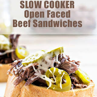 Slow Cooker Roast Beef Sandwiches.