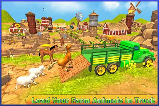 無料模拟Appの輸送トラックの運転手:動物|HotApp4Game