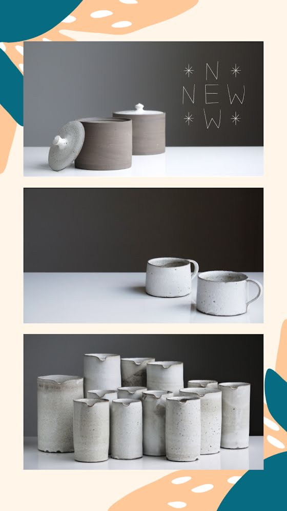 New Ceramic Vessels - Facebook Story Template