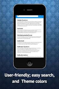 Medical Dictionary German screenshot 1