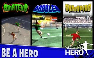 Screenshot of Soccer Hero