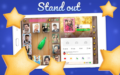 Kiss me: Spin the Bottle, Online Dating and Chat apkpoly screenshots 11