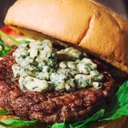 Blue Cheese Burger & Fries