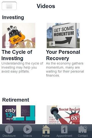 android TPA Financial Screenshot 2