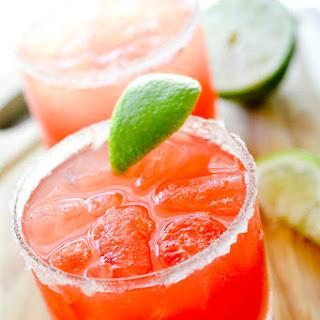 2 Point Watermelon Margaritas