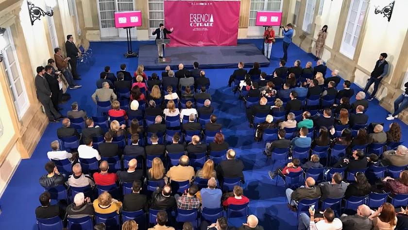 El Patio de Luces de Diputación, durante la presentación del evento.