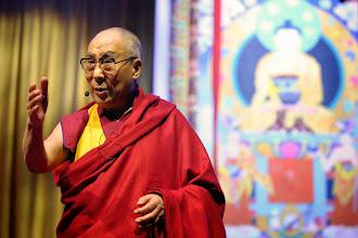 Foto: 11 May 2014 - HH dalai lama - Ahoy Rotterdam - photo by Jeppe Schilder