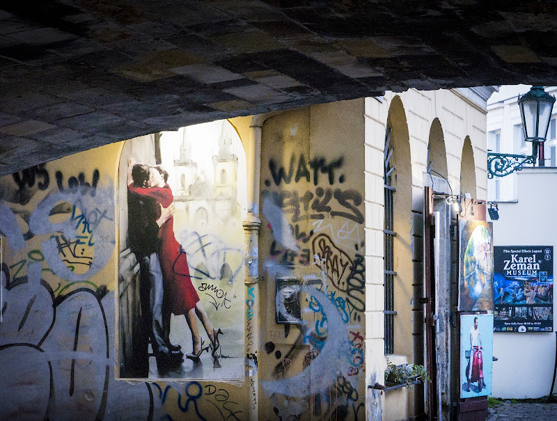 innamorati a Praga di defci