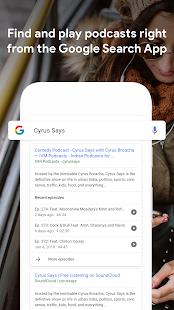 Google Podcasts Screenshot