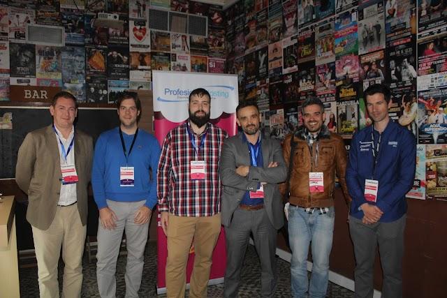 Alberto Cabrera, Enrique Ayala, David Ayala, Francisco López, Emiliano López y David Ceo.