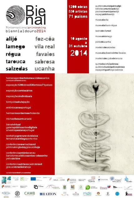 Museu de Lamego recebe núcleo da 7ª Bienal de Gravura do Douro