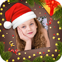Christmas &New year frame 2020 icon
