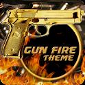 Gold Gun Military War icon
