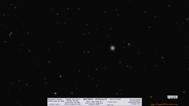 Photo: Back in Oct, I caught NGC6826 the Blinking Planetary. In low res I think I can make out the FLIERs, or Fast Low-Ionization Emission Region