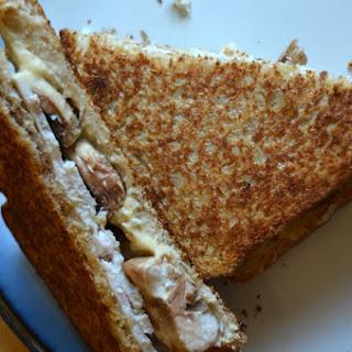 Grilled Turkey and Mushroom Sandwich Recipe