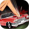 Simulator Crush Retro Car icon