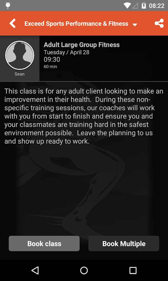 Exceed Sports Performance- screenshot