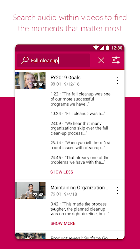 Microsoft Stream screenshot 3