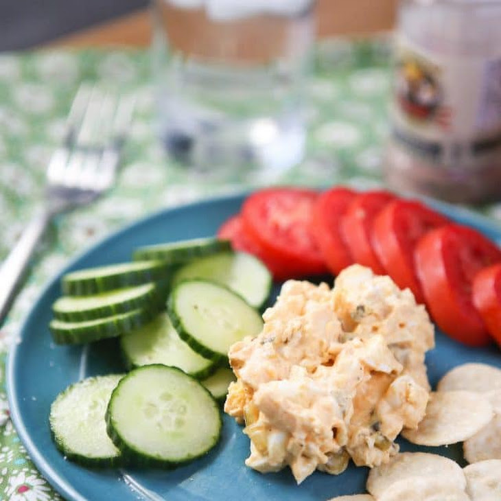 Greek Yogurt Egg Salad with Smoked Paprika