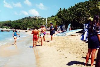 Photo: #016-La plage de Mayreau