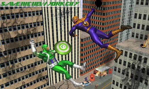 Spider Hero vs Captain PK Superhero Crime City USA - náhled