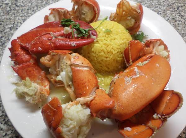 Lobster In Butter,garlic, White Wine Recipe