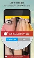 Screenshot of SIMSme – Your secure messenger