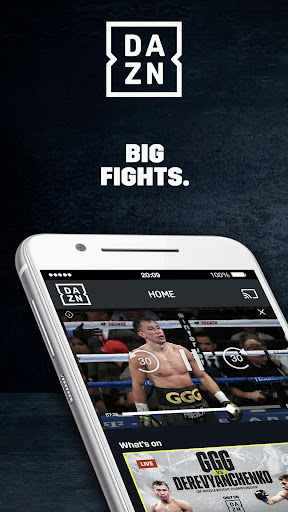 DAZN Live Fight Sports: Boxing, MMA & More 1.69.0 screenshots 1