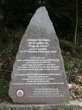 Photo: Monument commémoratif du Pain de Sucre