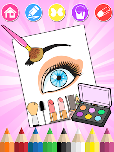 Screenshot For Beauty Coloring Book 2 In Indonesia Play Store