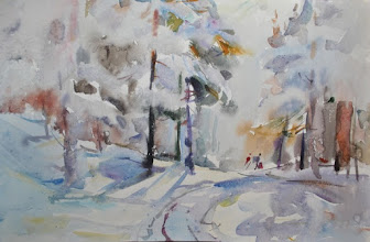 "Photo: Egor Bezborodov, ""Passeggiata nella neve"" (1960)"