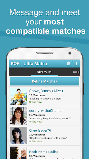 POF Free Dating App screenshot 7