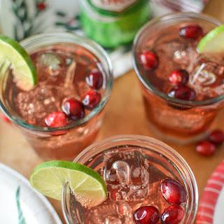 Cranberry Ginger Margaritas