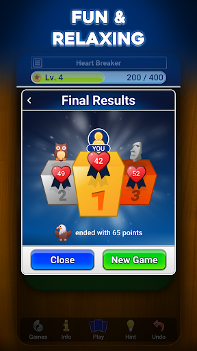 Hearts: Card Game filehippodl screenshot 4