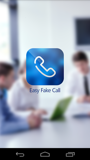 Easy Fake Call and SMS