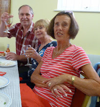 Photo: Eunice won the first prize in the raffle. Assume Adrian thinks he will be going to Eastbourne for the cream tea, dinner and overnight stay.