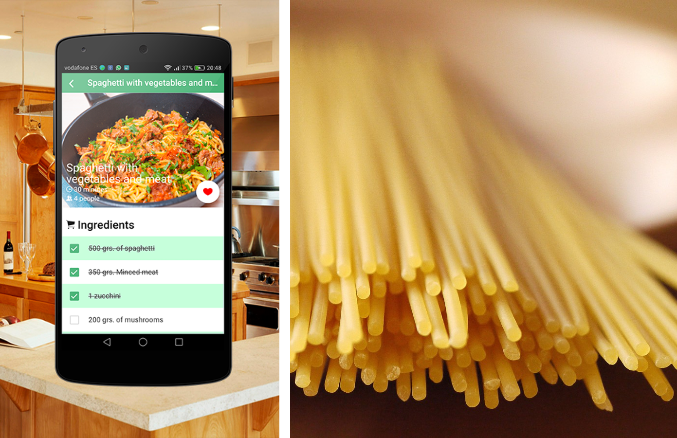 Spaghetti recipes android apps on google play spaghetti recipes screenshot forumfinder Image collections