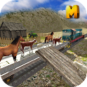 Animal Transport Train Sim 3D icon
