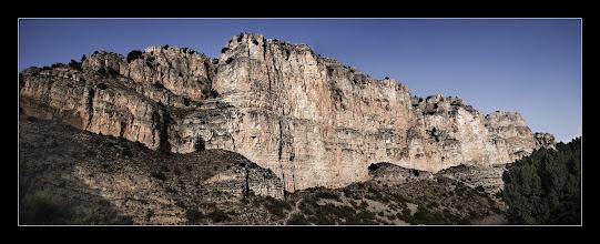 Photo: Acantilado cerca de Albarracín