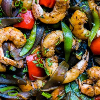 Asian Shrimp and Vegetable Medley Stir-Fry Recipe