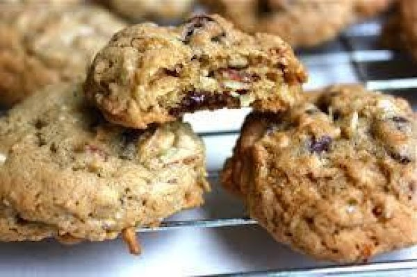 Orange Oatmeal Cranberry Cookies Recipe