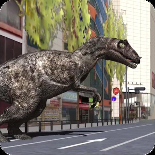 アキバザウルス - 恐竜から生き延びろ - 動作 App LOGO-硬是要APP