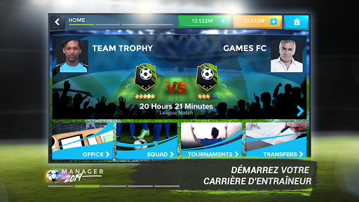Football Management Ultra 2019 - Manager Game captures d'u00e9cran 2
