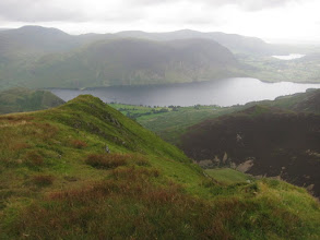 Photo: From the summit, nice views of Crummock Water with Loweswater beyond. Buttermere is off to the left, not visible ...