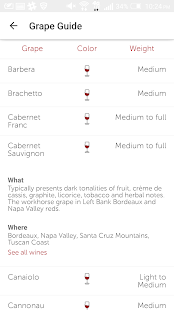 Vinous: Wine Reviews & Ratings- screenshot thumbnail