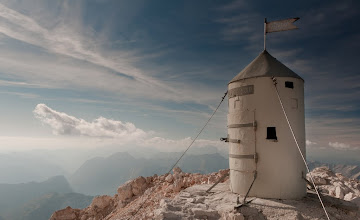 Photo: Aljažev stolp na Triglavu