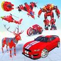 Grand Multi robot transform Jet War icon