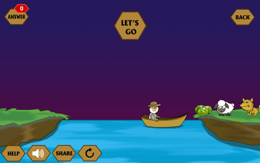 River Crossing IQ - IQ Test 1.4.4 screenshots 1