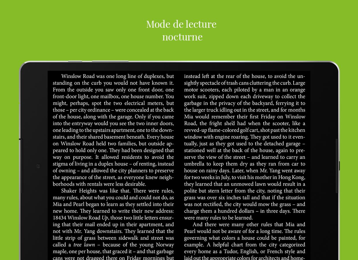 Universal Book Reader – Capture d'écran