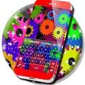 Multicolor Gears Keyboard icon